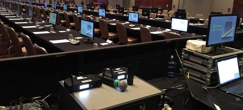 Dicas para locação de equipamentos para uma Convenção de Vendas