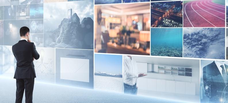 O que é e como usar vídeo wall nos eventos